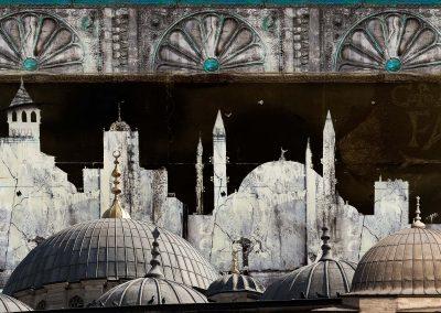 Istanbul II, 60x105 cm