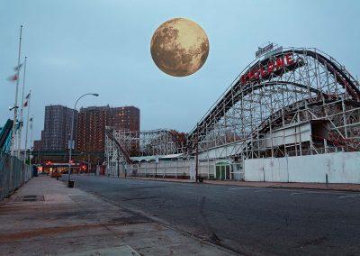 Coney Island I, 70x105 cm